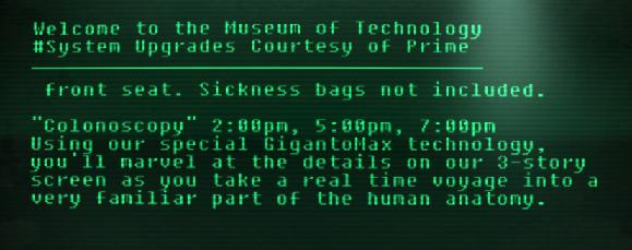 Amusing show at the Museum of History.