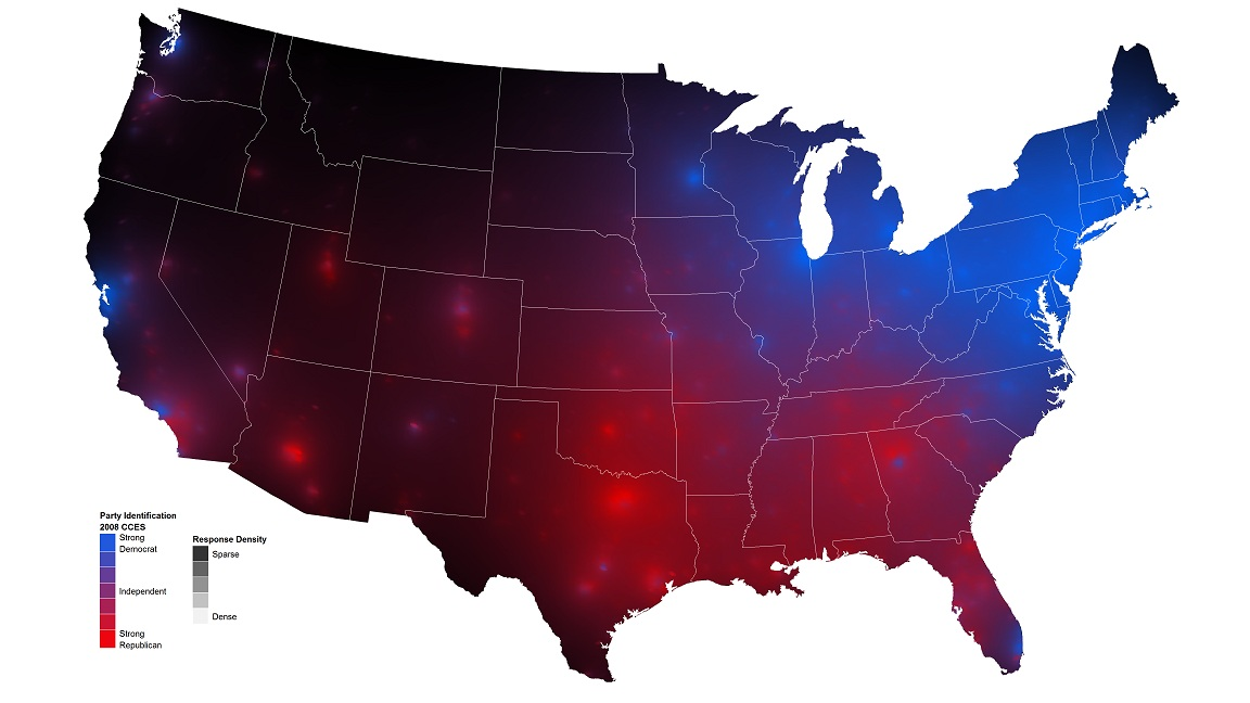 Purple America Map.Red Blue And Black America Zompist S E Z Rant Page