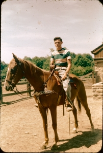 Dad, 60 years ago. Some of you will recognize the pic